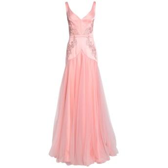 《セール開催中》ISABEL GARCIA レディース ロングワンピース&ドレス ピンク M ポリエステル 97% / ポリウレタン 3% / ナイロン