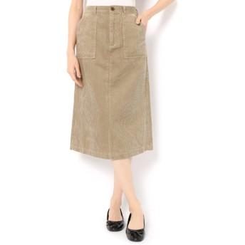 【サマンサモスモス/Samansa Mos2】 コーデュロイアウトポケットスカート