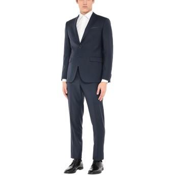 《セール開催中》CITY TIME メンズ スーツ ダークブルー 50 ポリエステル 52% / バージンウール 43% / ポリウレタン 5%