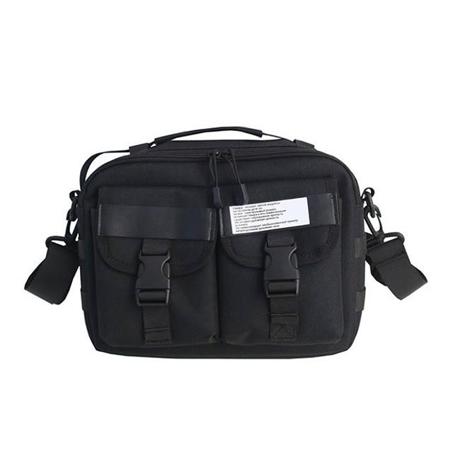 E.City_日式休閒雙袋手提單肩包