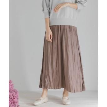 SENSE OF PLACE(センスオブプレイス) スカート スカート ワッシャープリーツスカート