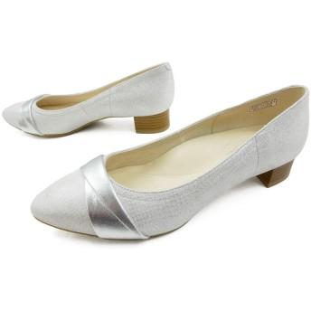 [リーガル] F07M パンプス 革靴 ローヒール 約3cmヒール レディース SLPP 23.5cm