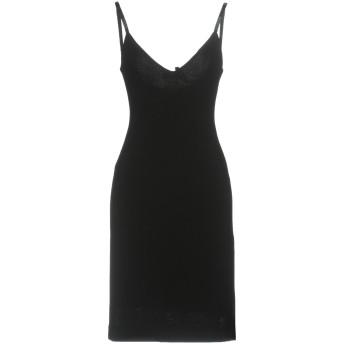 《セール開催中》DSQUARED2 レディース ミニワンピース&ドレス ブラック XS レーヨン 95% / ナイロン 3% / ポリウレタン 2%
