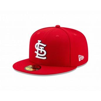 NEW ERA ニューエラ 59FIFTY MLBオンフィールド セントルイス・カージナルス ゲーム ベースボールキャップ キャップ 帽子 メンズ レディース 7 (55.8cm) 12504364 NEWERA