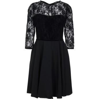 《セール開催中》KOCCA レディース ミニワンピース&ドレス ブラック XS ポリエステル 100%