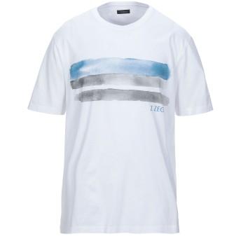 《セール開催中》ZZEGNA メンズ T シャツ ホワイト S コットン 100%