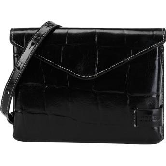 《セール開催中》STAUD レディース ハンドバッグ ブラック 牛革 100% HOLLY CONVERTIBLE BAG
