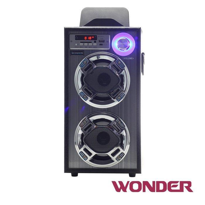 WONDER旺德 卡拉OK歡樂唱 隨身音響 WS-P001 支援USB裝置&及SD記憶卡