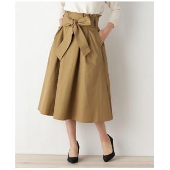 【洗濯機洗いOK】オトナチノフレアサッシュスカート