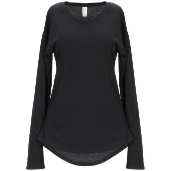 《セール開催中》ALTERNATIVE レディース T シャツ ブラック XS レーヨン 50% / コットン 50%