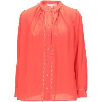 《セール開催中》VANESSA BRUNO レディース シャツ オレンジ 36 シルク 100% / コットン