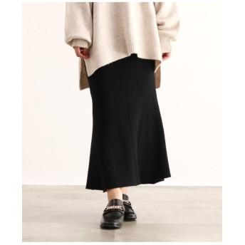 [洗える]マーメードニットロングスカート