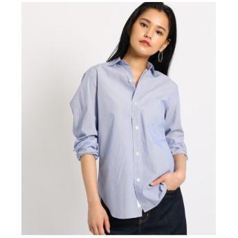 【洗える】コットンベーシックシャツ