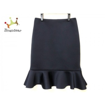 ルシェルブルー LE CIEL BLEU スカート サイズ38 M レディース ダークネイビー 新着 20200211