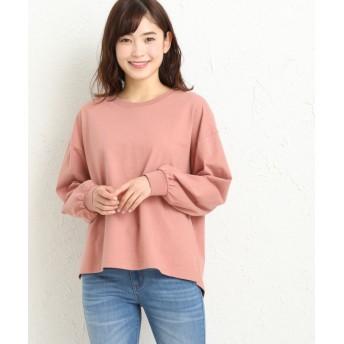 (Honeys/ハニーズ)ボリューム袖プルオーバー/レディース ピンク