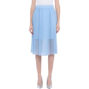 《セール開催中》VICOLO レディース 7分丈スカート スカイブルー one size ポリエステル 100%