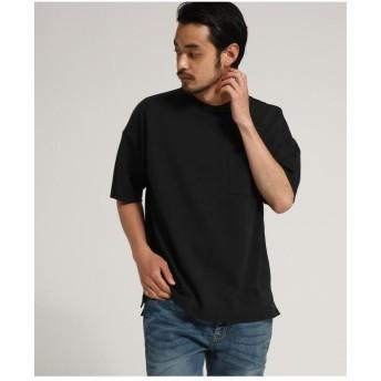 ビッグシルエット Wフェイス 半袖 Tシャツ