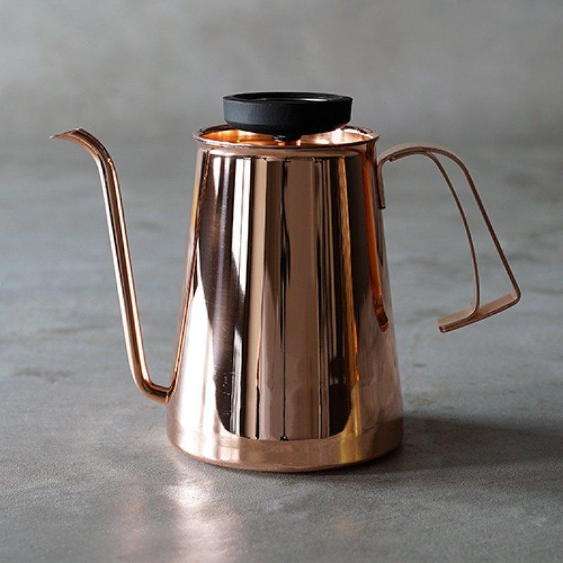 贈五件組 | Beasty Coffee 咖啡手沖壺-銅色