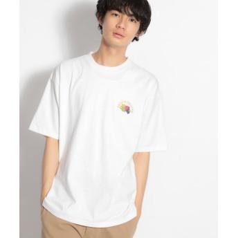 (niko and./ニコアンド)【FRUIT OF THE LOOM(フルーツオブザルーム)】別注ロゴTシャツ/ [.st](ドットエスティ)公式