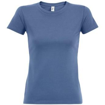 (ソールズ) SOLS レディース Imperial 半袖 Tシャツ カットソー (S) (ブルー)