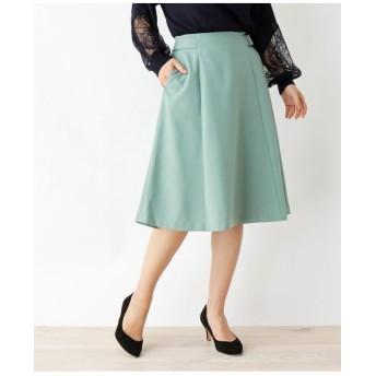 サイドバックルAラインスカート