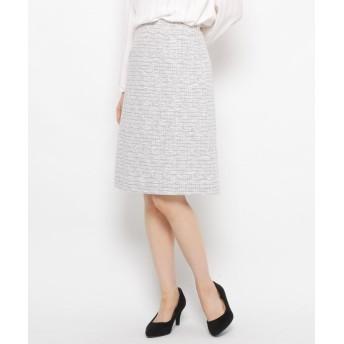 SOFUOL(ソフール) 【セレモニー/入卒】コットン混ツィードスカート