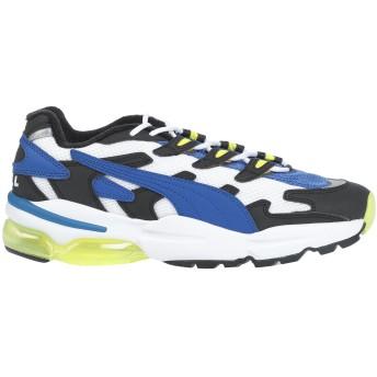 《セール開催中》PUMA メンズ スニーカー&テニスシューズ(ローカット) ブルー 6.5 紡績繊維 / ゴム
