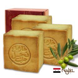 正宗敘利亞Najel月桂油40%阿勒坡手工古皂185g四入