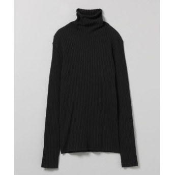 (JEANASIS/ジーナシス)【LIMITED】Shadow Rib Turtleneck Knit/ [.st](ドットエスティ)公式