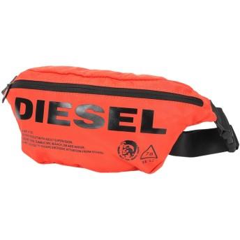 《セール開催中》DIESEL メンズ バックパック&ヒップバッグ オレンジ ナイロン 95% / ポリウレタン 5%