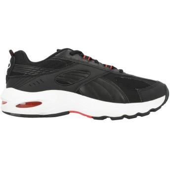 《セール開催中》PUMA メンズ スニーカー&テニスシューズ(ローカット) ブラック 6.5 紡績繊維 / ゴム