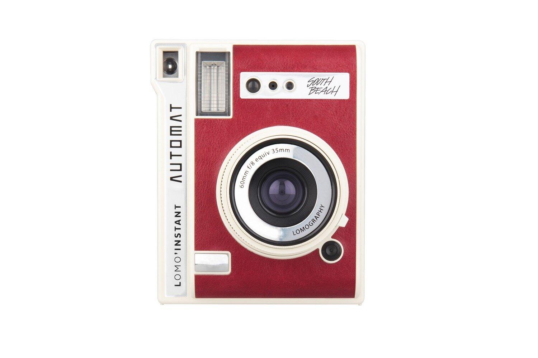 [享樂攝影]Lomo Instant Automat South Beach即可拍相機紅白色版+鏡頭套裝 拍立得 閃光燈 近攝 廣角 魚眼