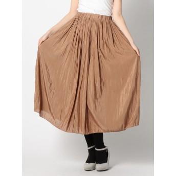 プリーツギャザースカート