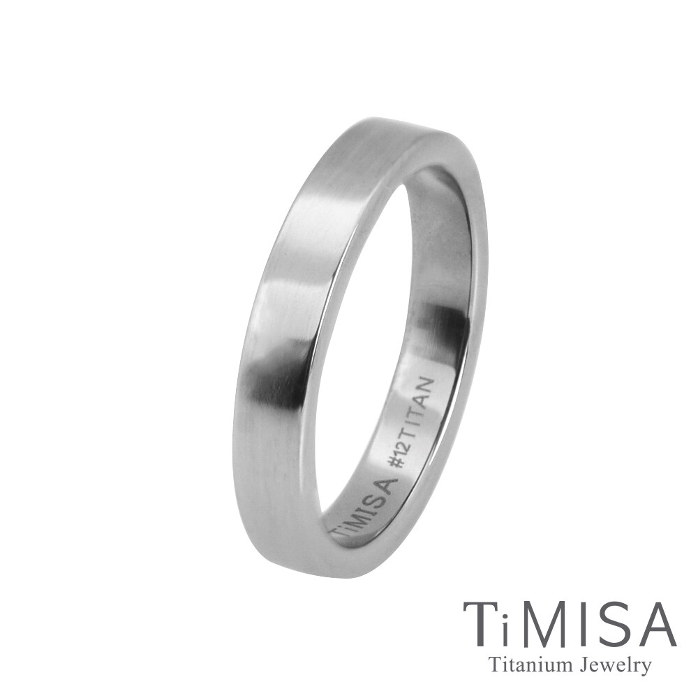 timisa 純鈦飾品簡約 純鈦戒指