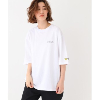BASE CONTROL LADYS(ベース コントロール レディース) MARK GONZALES マークゴンザレス 別注 BIG バックプリント 半袖 Tシャツ