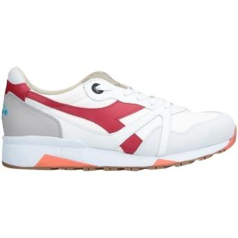 《セール開催中》DIADORA HERITAGE メンズ スニーカー&テニスシューズ(ローカット) ライトグレー 6.5 革 / 紡績繊維