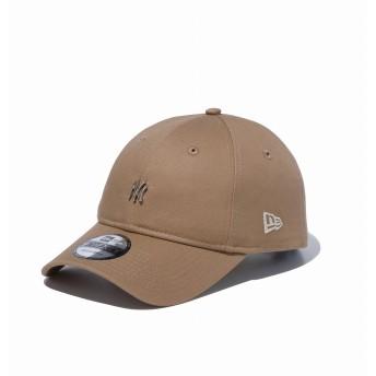 NEW ERA ニューエラ 9TWENTY クロスストラップ ニューヨーク・ヤンキース メタルミニロゴ カーキ × シルバー アジャスタブル サイズ調整可能 ローキャップ ベースボールキャップ キャップ 帽子 メンズ レディース 56.8 - 60.6cm 12362236 NEWERA