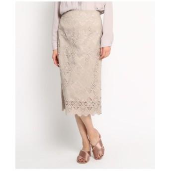 【Lサイズあり/steady.3月号掲載】レースタイトスカート