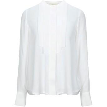 《セール開催中》VICOLO レディース シャツ ホワイト L ポリエステル 100%