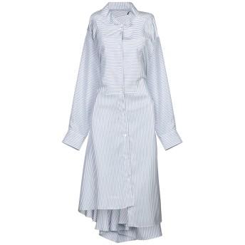 《セール開催中》LOEWE レディース 7分丈ワンピース・ドレス スカイブルー 38 シルク 100%