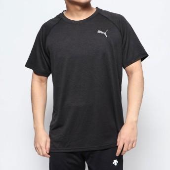 プーマ PUMA メンズ 半袖機能Tシャツ プーマ ヘザー SS Tシャツ 519249
