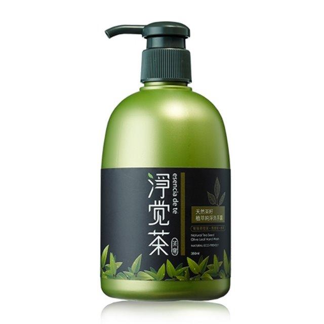 茶籽植萃純淨洗手露+茶籽果萃保濕洗手露(350mlx6瓶)