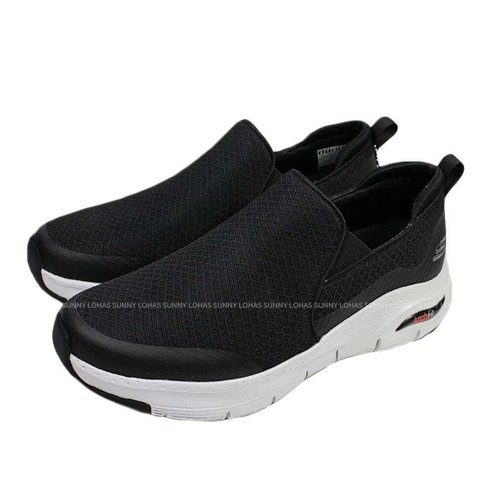 (b2)skechers 休閒鞋 arch fit-banlin 男鞋 休閒鞋 232043bkw