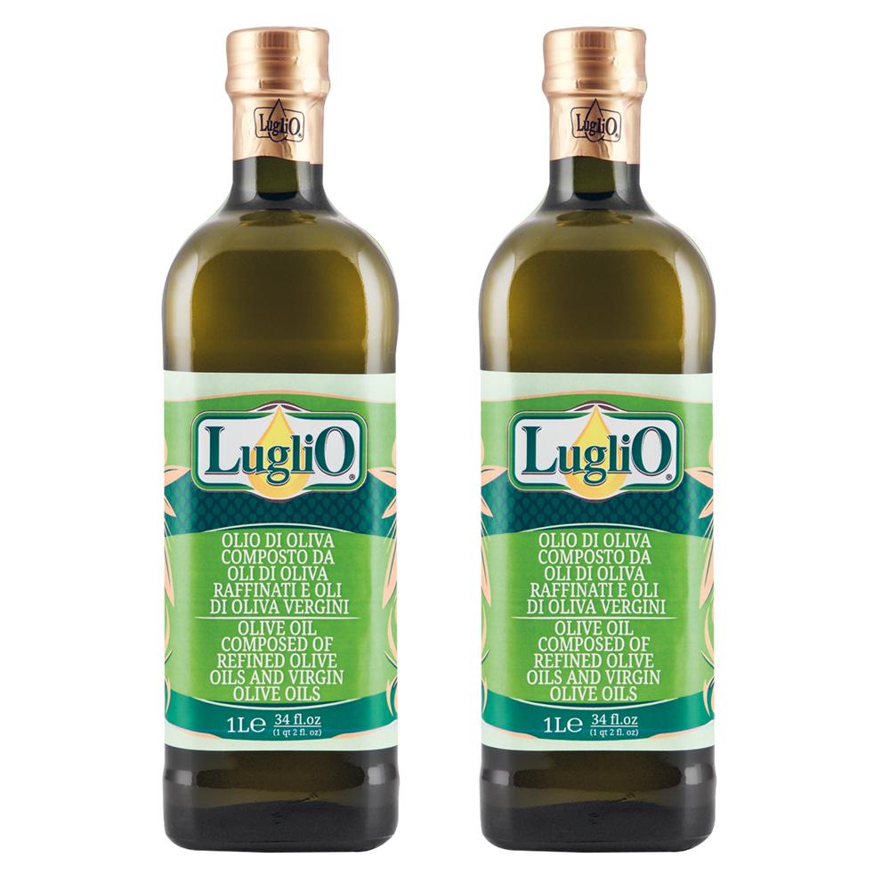LugliO 義大利羅里奧特級橄欖油 1000ml 兩入組