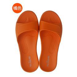 台灣製(親子款)MIT All Clean 環保室內外拖鞋-橘色