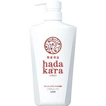 hadakara(ハダカラ) ボディソープ フレッシュフローラルの香り 本体 500ml フローラルブーケ