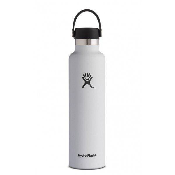 【【蘋果戶外】】Hydro Flask【標準口/710ml】經典白 標準口瓶 710ml 24oz 美國不鏽鋼保溫保冰瓶 保冷保溫瓶 不含雙酚A
