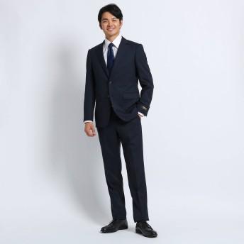 タケオ キクチ TAKEO KIKUCHI 【Sサイズ〜】シャドーストライプ スーツ Material using CORDURA (ダークネイビー)