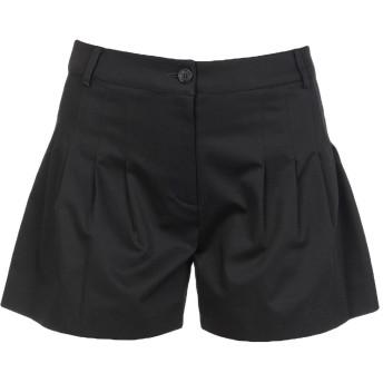 《セール開催中》MOSCHINO レディース ショートパンツ ブラック 40 コットン 96% / 指定外繊維 4%