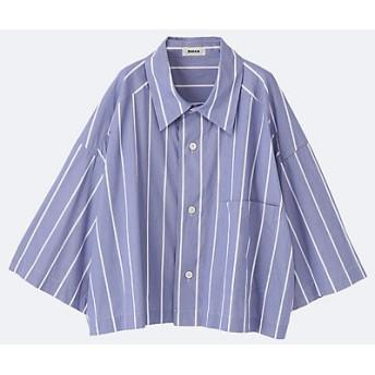 【送料無料】<ZUCCa/ズッカ> 大きいサイズ BIGシャツ アオ【三越・伊勢丹/公式】